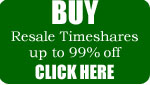 Buy Resale timeshares and save thousands of dollars