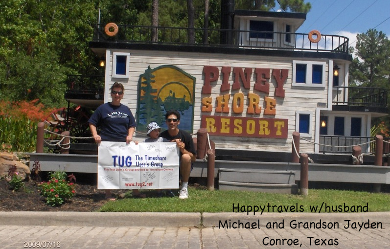 happy travels at piney shores resort