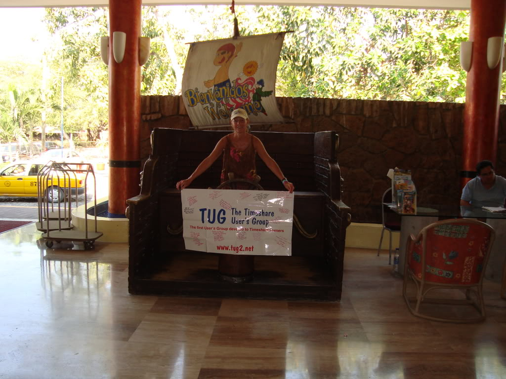 Crown Paradise Timeshare Lobby